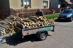 Dřevo až do domu