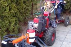 Mladé traktoristky